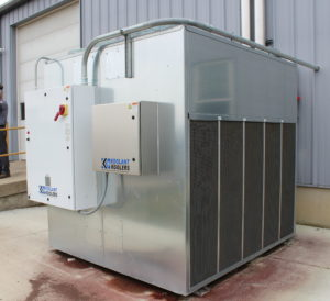 Voisard Tool uses a central chiller from Glen Dimplex Thermal Solutions to support 28 CNC machines around the clock.